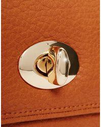Yoki Fashion | Brown Fold Over Purse | Lyst