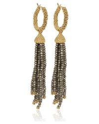 Annoushka - Metallic Gold Alchemy Hoop Earrings - Lyst