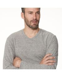 James Perse - White Revival Jersey Soft V Neck for Men - Lyst