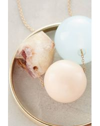 Anthropologie | Blue Dovie Pendant Necklace | Lyst