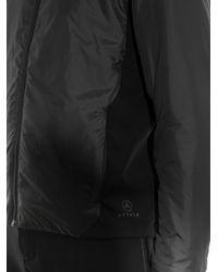 Aether Black Boundary Insulated Ski Jacket for men