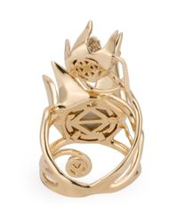 Eddie Borgo | Metallic 'climbing Rose' Ring | Lyst