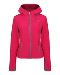 Bench Pink Firehall B Soft Shell Hooded Jacket