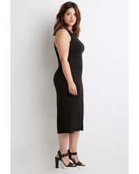 Forever 21 Red Plus Size Varsity Stripe-trimmed Dress