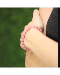 Sydney Evan - Pink Moroccan Star Beaded Bracelet - Lyst