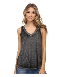 Free People | Gray Breezy Tank | Lyst