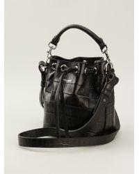 Saint Laurent Black Small 'emmanuelle' Bucket Bag