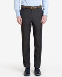 Ted Baker - Gray Sterling Wool Suit Trousers for Men - Lyst