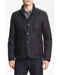 Burberry Brit | Black 'howe' Quilted Jacket for Men | Lyst