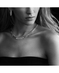 David Yurman - Metallic Labyrinth Link Necklace in Gold - Lyst