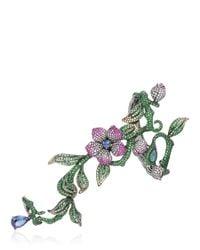 Wendy Yue - Green The Wild Willbow Hand Bracelet - Lyst
