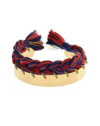 Aurelie Bidermann | Red Copacabana Gold-Plated Bracelet | Lyst