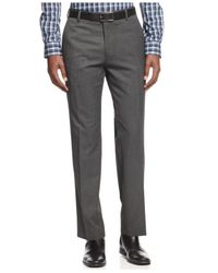 Kenneth Cole Reaction - Gray Slim-Fit Sharkskin Pants for Men - Lyst