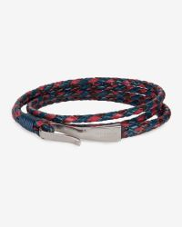 Ted Baker | Blue Leather Hook Bracelet for Men | Lyst