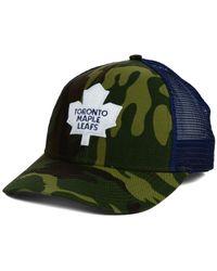 Reebok | Green Toronto Maple Leafs Camo Trucker Cap for Men | Lyst