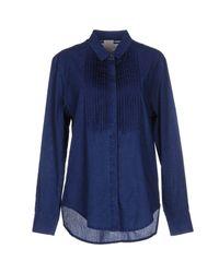 People - Blue Denim Shirt - Lyst