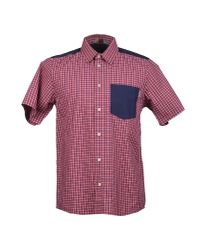 Carhartt - Red Short Sleeve Shirt for Men - Lyst