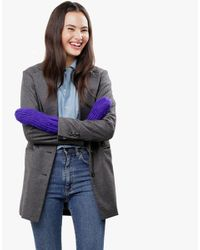 Wool And The Gang | Purple Fight The Power Mittens | Lyst