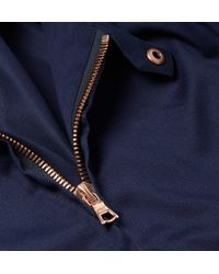 Private White V.c. | Blue Rainrider Cotton-Twill Jacket for Men | Lyst