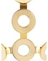 Giuseppe Zanotti - Metallic Gold Plated Body Harness - Lyst