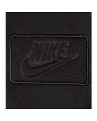 Nike Black Contrast Cotton-Blend Jacket