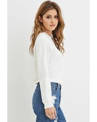 Forever 21 - Natural No Chill Graphic Sweatshirt - Lyst