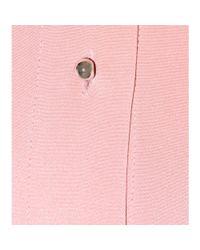 ROKSANDA Pink Double Crepe Silk Shirt