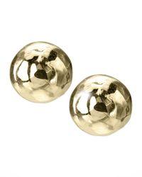 Ippolita - Metallic Mini Gold Stud Earrings - Lyst