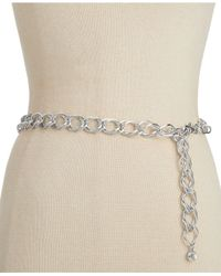 INC International Concepts | Metallic Basic Chain Belt | Lyst