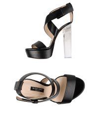 Ruthie Davis - Black Sandals - Lyst