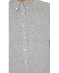 Schnayderman's | Gray Leisure Jersey One Shirt for Men | Lyst