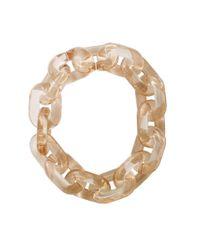 Stella McCartney - Natural Plexy Chain Necklace - Lyst