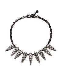 Lulu Frost - Metallic Jabrosa Spike Necklace - Lyst