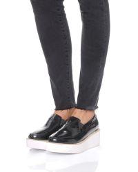 Sol Sana - Black Tabbie Wedges - White/white - Lyst