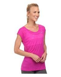 Nike Pink Dri-Fit™ Cool Breeze Short Sleeve Top