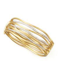 Marco Bicego | Metallic Jaipur Diamond Link Diamond Cuff | Lyst