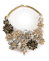 Ermanno Scervino | Metallic Jewel Embellished Necklace | Lyst