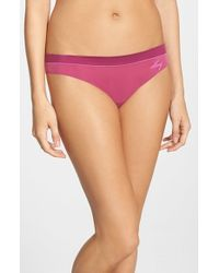 DKNY | Pink 'fusion' Thong | Lyst