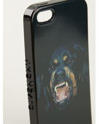 Givenchy - Black Rottweiler Iphone 5 Case for Men - Lyst