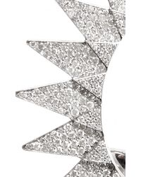 Runa - Metallic Diamond Sun Ear Cuff - Lyst