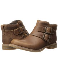Timberland | Brown Earthkeepers® Savin Hill Double Buckle Ankle Boot | Lyst