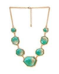 Forever 21 - Metallic Show Off Ombré Faux Stone Necklace - Lyst