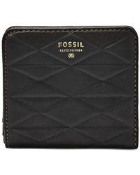 Fossil | Black Sydney Bifold Wallet | Lyst