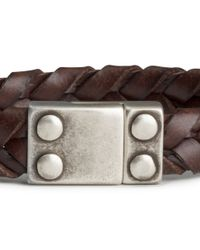 H&M | Brown Braided Bracelet for Men | Lyst