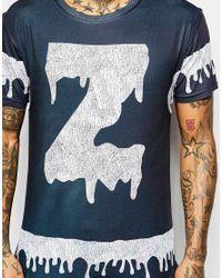 Born Idol - Blue Bone Idol Halloween Zombie T-shirt for Men - Lyst