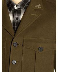 Saint Laurent Natural Military Patch-pocket Jacket for men