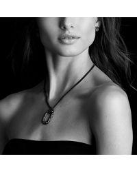 David Yurman | Blue Midnight Mélange Earrings With Diamonds | Lyst
