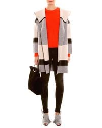 Vince - Multicolor Wool Coat - Lyst