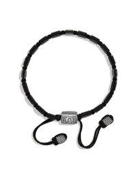 David Yurman - Black Sky Small Tile Bracelet for Men - Lyst