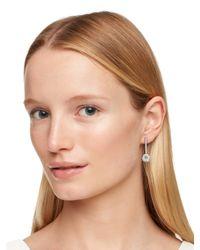 kate spade new york Metallic Clink Of Ice Linear Drop Earrings